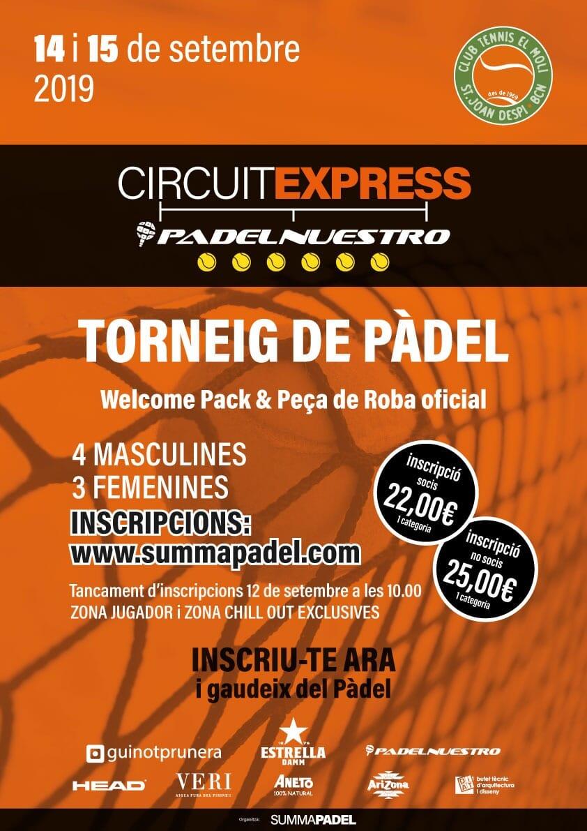 Express Padel Nuestro CT El Molí